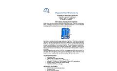 Model MMF - Media Filtration System Brochure
