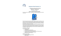 Model WS - Water Softeners and Ion Exchange Systems Brochure