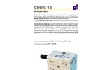 Debem - Cubic Air Operated Diaphragm Pump Brochure