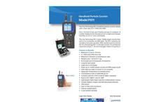 P611 Handheld Particle Counter - Datasheet
