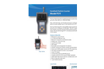 P311 Handheld Particle Counter - Datasheet