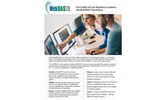 Trace - Version WebDAS2K - Regulatory Compliance Software Brochure