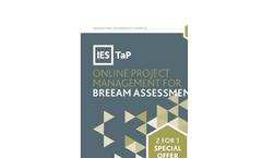 Online Project Management for Breeam Assessments Brochure