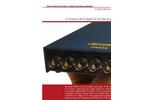Prosig - Model P8004 - Ultra Portable 24 Bit Data Acquisition System Brochure
