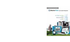 WeatherTRAK Solutions Brochure