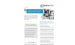 WeatherTRAK - Version ET Pro3 2-Wire - Commercial-Grade Smart Irrigation Controller Software Brochure