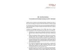 Low Temperature Multi Effect Distillation System Brochure