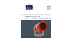 Model FDS300 - Visual Flame Detector Manual