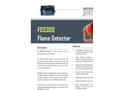 Model FDS300 - Visual Flame Detector Brochure