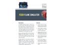Model FS301 - Flame Simulator Brochure