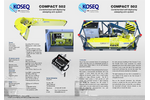 Koseq - Model Compact 502 - Containerized Self-Deploying Sweeping Arm System - Datasheet