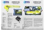Koseq - Model MCPS - Modular Crane Pedestal System Brochure