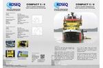 KOSEQ - Model Compact 5 & 8 - Sweeping Arms - Brochure