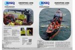 Koseq - Sweeping Arms for Offshore Oil Recovery System - Datasheet