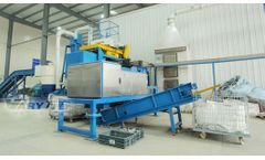 Populated Waste Printed Circuit Board Recycling Line