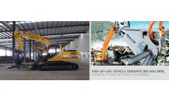 End-of-Life Vehicle (ELV) Dismantling Equipment