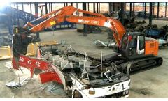 End-of-Life Vehicle (ELV) Multi-Dismantling Machinery