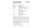 Albis - Model ABS A GY77-4070 - Acrylonitrile/Butadiene/Styrene/Copolymer Plastic Brochure