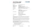Albis - Model ABS A GY77-4071 - Acrylonitrile/Butadiene/Styrene/Copolymer Plastic Brochure