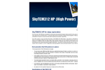 SkyTEM - Model 312 HP - High Power Deep Exploration Airborne Transient Electromagnetic Systems Brochure
