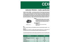 Molecular Filtration Medias - Activated Carbon - cex002 - Datasheet
