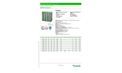 Sofilair - Green 2 - Compact Filter for High Efficiency - Datasheet