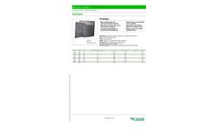 CamSure - Loose-Filled Carbon Panels - Datasheet