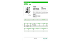 CamCleaner - 2000 - Air Cleaner - Datasheet