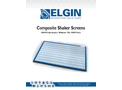 Elgin - Composite Shaker Screens - Brochure