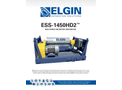 Elgin - Model ESS-1450HD2 - High Speed Decanter Centrifuge - Brochure
