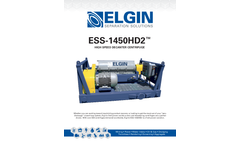 Elgin - Model ESS-1450HD2 - High Speed Decanter Centrifuge - Brochure