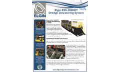 Elgin - Model ESS-3000DT - Dredge Dewatering System - Cut Sheet
