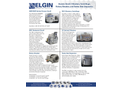 Elgin - Model CMI - Vertical Screen Scroll Centrifuge - Brochure