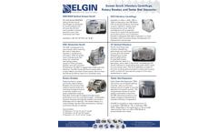Elgin - Model CMI - Vertical Screen Scroll Centrifuge - Brochure