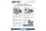 CMI HVC 1400-105Horizontal Vibratory Centrifuge - Brochure