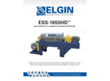 Elgin - Model ESS-1655HD2 - High Speed Fully–Variable Decanter Centrifuge - Brochure