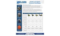Elgin - Model ESS-1842BD - Rendering Centrifuges - Brochure