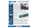 Elgin - 40 Foot Containerized Dewatering and Waste Oil Treatment System - Brochure