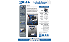 Elgin - Model ESS-48STD MC - Polyurethane Molded Hydrocyclones - Brochure