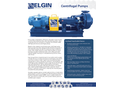 Elgin - Centrifugal Pumps - Brochure