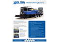 Elgin - Model ESS-1655XP and ESS-1967XP Polisher - Mobile Polishing Systems - Brochure