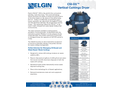 Elgin - Model CSI-D3 - Vertical Cuttings Dryer - Brochure
