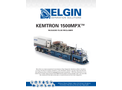Elgin KEMTRON - Model 1500MPX - Package Mud System - Cutsheet