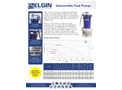 Elgin - Model ESS-T400/T600/T800/T1500-STPUMP - Submersible Pumps - Brochure