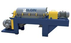 Elgin - Model ESS-1655HD2 - High Speed Fully–Variable Decanter Centrifuge
