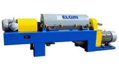 Elgin - Model ESS-1967HD2 - High Speed Fully- Variable Decanter Centrifuge