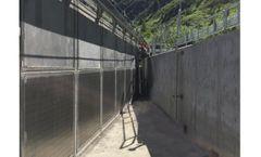 Elgin - Wedge Wire Flat Panel Screen