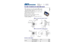 BEI - Model HHM3 - Magnetic Incremental Encoders - Datasheet