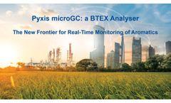 Pyxis microGC: a BTEX Analyser - Video