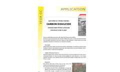 Carbon Disulfide Emissions from a Rayon Production Plant - Applications Note